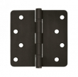 Deltana<br />S44R4BB - 4&quot; x 4&quot; x 1/4&quot; Radius Deltana Hinge Pair, Ball Bearings