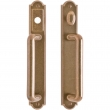 "Entry Sliding Door Set - 1-3/4"" x 11"" Ellis Escutcheons"