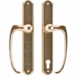 "Rocky Mountain Hardware<br />E041/E048 - Patio Sliding Door Set - 1-3/4"" x 11"" Ellis Escutcheons"