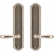 "Rocky Mountain Hardware<br />E060/E060 - Passage Spring Latch Set - 3"" x 13"" Ellis Escutcheons"