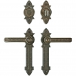 "Rocky Mountain Hardware<br />E10810/E10810 - Entry Dead Bolt/Spring Latch Set - 2-3/8"" x 10"" Briggs Escutcheons"