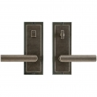 "Rocky Mountain Hardware<br />E113/E112 - Privacy Mortise Lock Set - 3"" x 8"" Designer Escutcheons"