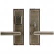 "Rocky Mountain Hardware<br />E118/E116 - Entry Dead Bolt/Spring Latch Set - 3"" x 10"" Designer Escutcheons"
