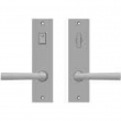 "Rocky Mountain Hardware<br />E163/E162 - Privacy Mortise Lock Set - 2"" x 8"" Edge Escutcheons"