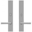 "Rocky Mountain Hardware<br />E172/E171 - Privacy Mortise Bolt/Spring Latch Set - 2"" x 13"" Edge Escutcheons"
