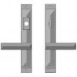 "Rocky Mountain Hardware<br />E21044/E21042 - 1 3/4"" x 11"" Mack Multi-Point Entry Set Escutcheon, American Cylinder - Entry, Lever Low"