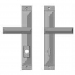 "Rocky Mountain Hardware<br />E21045/E21043 - 1 3/4"" x 11"" Mack Multi-Point Entry Set Escutcheon, American Cylinder - Entry, Lever High"