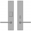 "Rocky Mountain Hardware<br />E255/E257 - Entry Mortise Lock Set - 2-1/2"" x 13"" Metro Escutcheons"