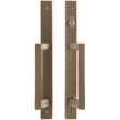 "Rocky Mountain Hardware<br />E277/E278 - Patio Sliding Door Set - 1-3/8"" x 13"" Metro Escutcheons"