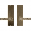 "Rocky Mountain Hardware<br />E30310/E30310 - Passage Spring Latch Set - 3"" x 10"" Trousdale Escutcheons"