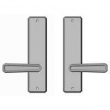 "Rocky Mountain Hardware<br />E30410/E30410  - Full Dummy Set - 2-1/2"" x 10"" Hammered Escutcheons"