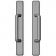 "Rocky Mountain Hardware<br />E30480/E30480 - Patio Full Dummy Sliding Door Set - 1-3/4"" X 13"" Hammered Escutcheons"