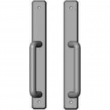 "Rocky Mountain Hardware<br />E30482/E30482 - Entry Full Dummy Sliding Door Set - 1-3/4"" x 13"" Hammered Escutcheons"