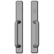 "Rocky Mountain Hardware<br />E30482/E30483 - Patio Sliding Door Set - 1-3/4"" x 13"" Hammered Escutcheons"