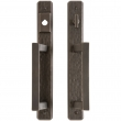 "Entry Sliding Door Set - 1-3/4"" x 13"" Hammered Escutcheons"