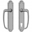"Rocky Mountain Hardware<br />E30665/E30669 - Patio Sliding Door Set - 2"" x 11"" Corbel Arched Escutcheons"
