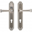 "2"" x 11"" Corbel Arched Multi-Point Entry Set Escutcheon, Profile Cylinder - Entry, Lever High"