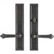 "Rocky Mountain Hardware<br />E30761/E30762 - 2"" x 11"" Corbel Rectangular Multi-Point Entry Set Escutcheon, American Cylinder - Patio, Lever Low"