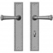 "Rocky Mountain Hardware<br />E30765/E30766 - 2"" x 11"" Corbel Rectangular Multi-Point Entry Set Escutcheon, American Cylinder - Patio, Lever High"