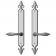 "Rocky Mountain Hardware<br />E30861/E30861 - 2"" x 17"" Bordeaux Multi-Point Entry Set Escutcheon, American Cylinder - Full Dummy, Lever Low"
