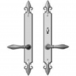"Rocky Mountain Hardware<br />E30861/E30862 - 2"" x 17"" Bordeaux Multi-Point Entry Set Escutcheon, American Cylinder - Patio, Lever Low"