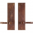 "Rocky Mountain Hardware<br />E360/E360 - Passage Spring Latch Set - 3-1/2"" x 13"" Stepped Escutcheons"