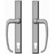 "Rocky Mountain Hardware<br />E440/E440 - Entry Sliding Door Set - 1-3/8"" x 11"" Rectangular Escutcheons"