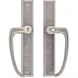 "Rocky Mountain Hardware<br />E446/E446 - Full Dummy Sliding Door Set - 1-3/4"" x 11"" Rectangular Escutcheons"