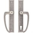 "Rocky Mountain Hardware<br />E446/E449 - Patio Sliding Door Set - 1-3/4"" x 11"" Rectangular Escutcheons"