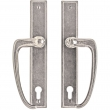 "Rocky Mountain Hardware<br />E449/E449 - Entry Sliding Door Set - 1-3/4"" x 11"" Rectangular Escutcheons"