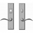 "Rocky Mountain Hardware<br />E459/E458 - 2 1/2"" x 11"" Rectangular Multi-Point Entry Set Escutcheon, American Cylinder - Entry, Lever Low"
