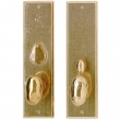 "Rocky Mountain Hardware<br />E462/E463 - Entry Mortise Lock Set - 3-1/2"" x 13"" Rectangular Escutcheons"