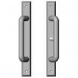 "Rocky Mountain Hardware<br />E468/E469 - Patio Sliding Door Set - 1-3/8"" x 11"" Rectangular Escutcheons"