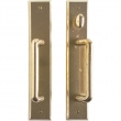 "Patio Sliding Door Set - 2-1/2"" x 13"" Rectangular Escutcheons"