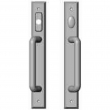 "Rocky Mountain Hardware<br />E498/E497 - Entry Sliding Door Set - 1-3/4"" x 13"" Rectangular Escutcheons"