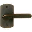 "Rocky Mountain Hardware<br />E504 - Single Dummy - 2-1/2"" x 4-1/2"" Curved Escutcheons"