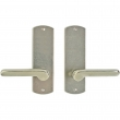 "Rocky Mountain Hardware<br />E508/E508 - Passage Spring Latch Set - 2-1/2"" x 8"" Curved Escutcheons"