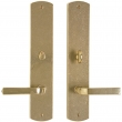 "Rocky Mountain Hardware<br />E559/E557 - Privacy Mortise Lock Set - 2-1/2"" x 13"" Curved Escutcheons"