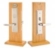 Emtek<br />3506 - Manhattan Mortise Entry Set