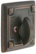 Emtek<br />8554 - BRASS ARTS AND CRAFTS SINGLE SIDED DEADBOLT
