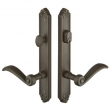 Emtek<br />1334 - Tuscany Plates 1.5&quot; x 11&quot; - Non-Keyed Fixed Handle Outside, Operating Handle Inside #3