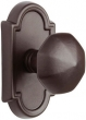 Emtek<br />Select the Rose - LOST WAX/TUSCANY CAST BRONZE OCTAGON KNOB