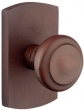 Emtek<br />Select the Rose - SANDCAST BRONZE BUTTE KNOB