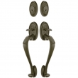 Emtek<br />475444 - Tuscany Sectional Grip by Grip Entrance Handleset Dummy
