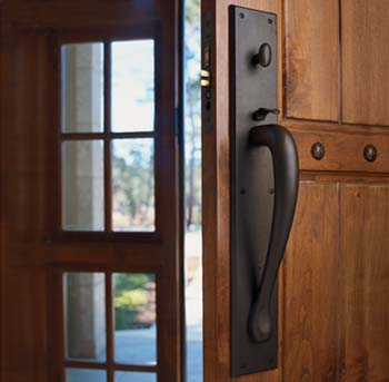 Elegant Rocky Mountain Hardware Thumblatch Entry