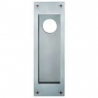 FSB Door Hardware <br />4210 09001 - Aluminum Flush Pull for Locking Door 4210 with Cylinder Hole