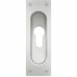 FSB Door Hardware <br />4211 0002 - Aluminum Flush Pull 4211 with PZ Cut-Out