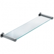 FSB Door Hardware <br />8270 00015 - Stainless Steel Frosted Glass Shelf