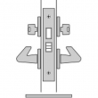 FSB Door Hardware <br />SML 7122 - A. Store Door Mortise Lock, Latch Bolt By Handle, Deadbolt By Key, Either Side