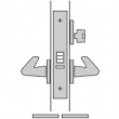 FSB Door Hardware <br />SML 7145 - G. Classroom Mortise Lock, Outside Lever Locked By Key Only